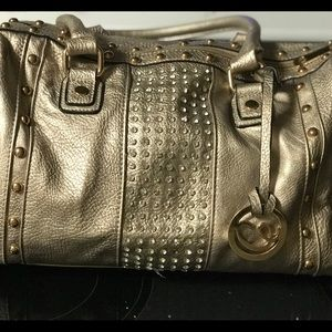 Handbags - Gold handbag